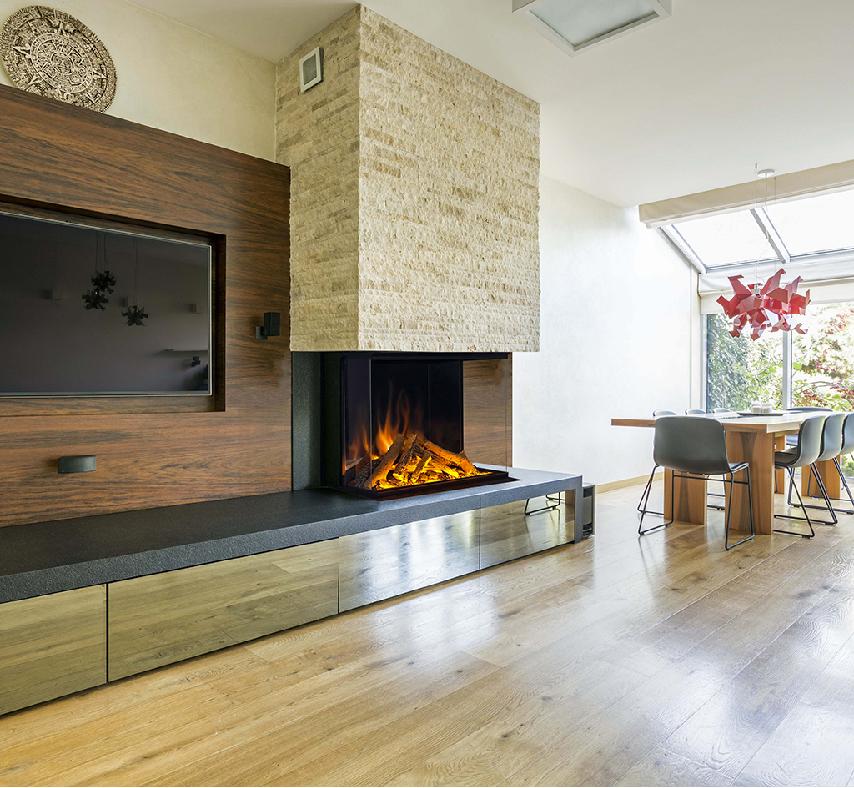 Barrys Fireplace Evonic Evoflame E 800GF3