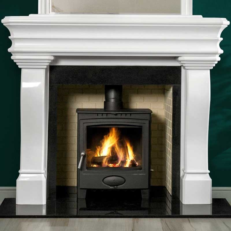 Barry's Fireplaces - Carlingford Polar White