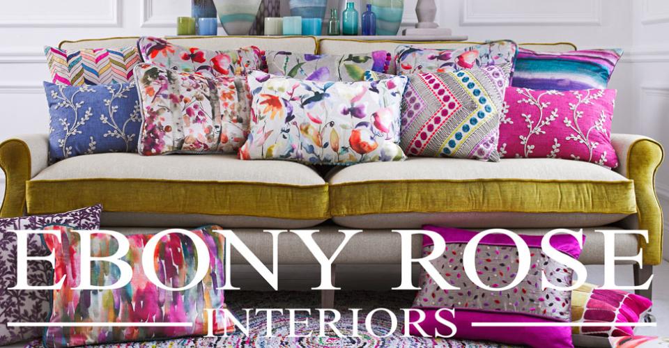 Ebony Rose Interiors - Paints Fabrics Furniture Wallpaper Accessories