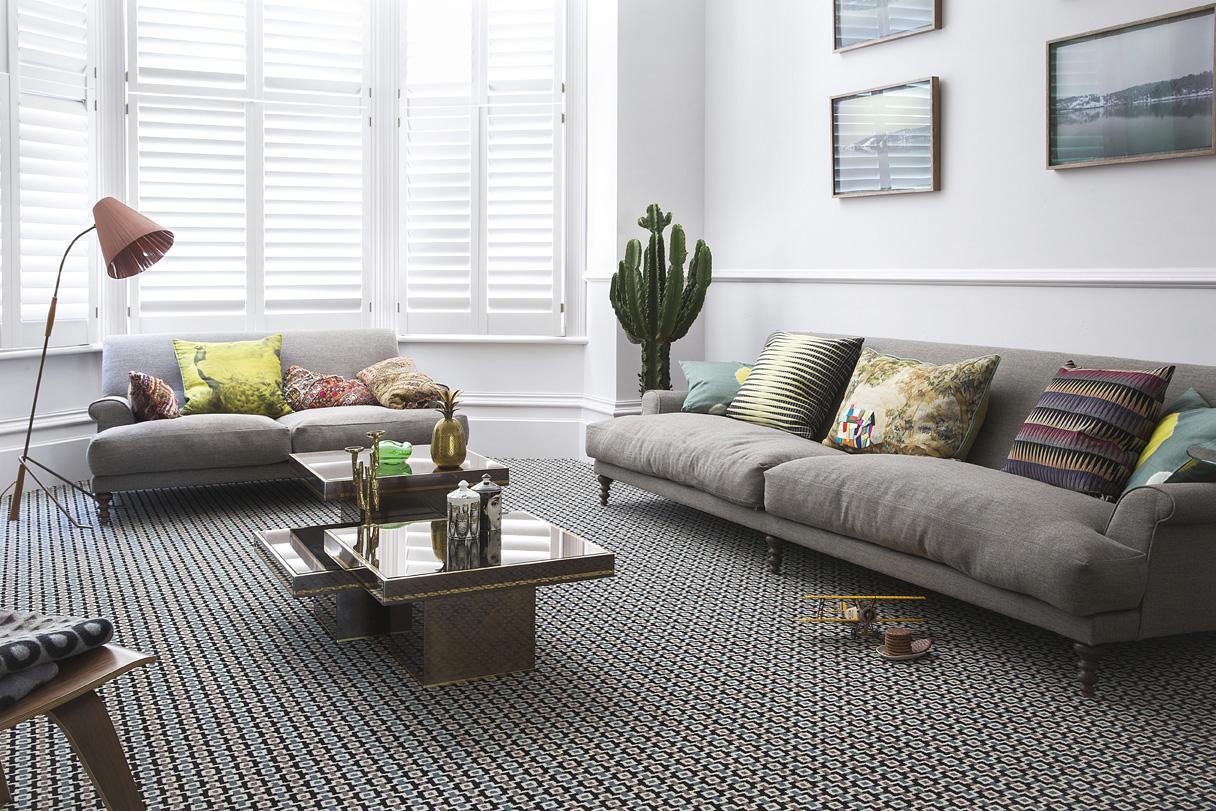 TC Matthews Carpets - lifestyle carpet designer margo selby